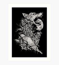 Werewolf Therewolf Art Print