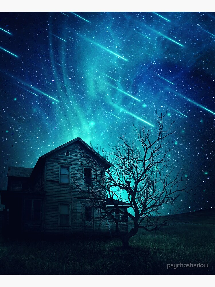 No One Home when stars are falling... by psychoshadow