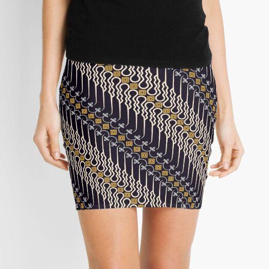 batik parang motif Mini Skirt