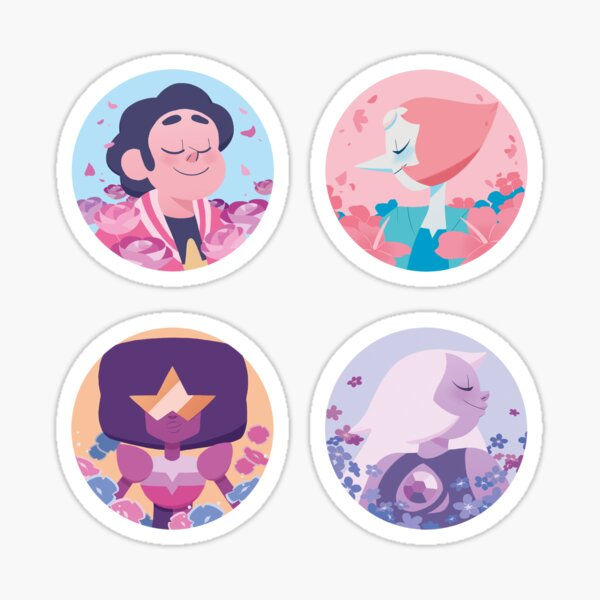 Crystal Gems Sticker set Sticker