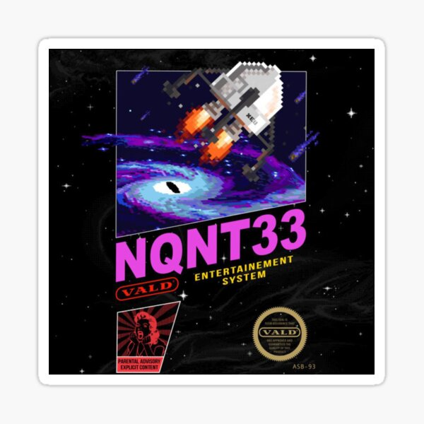 NQNT33 VALD Sticker