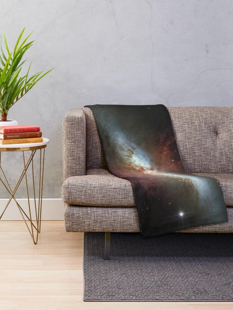 Alternative Ansicht von Messier 82 Fleecedecke