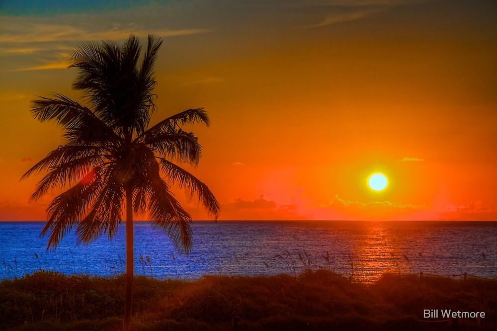 Miami Beach Sunrise by Bill Wetmore