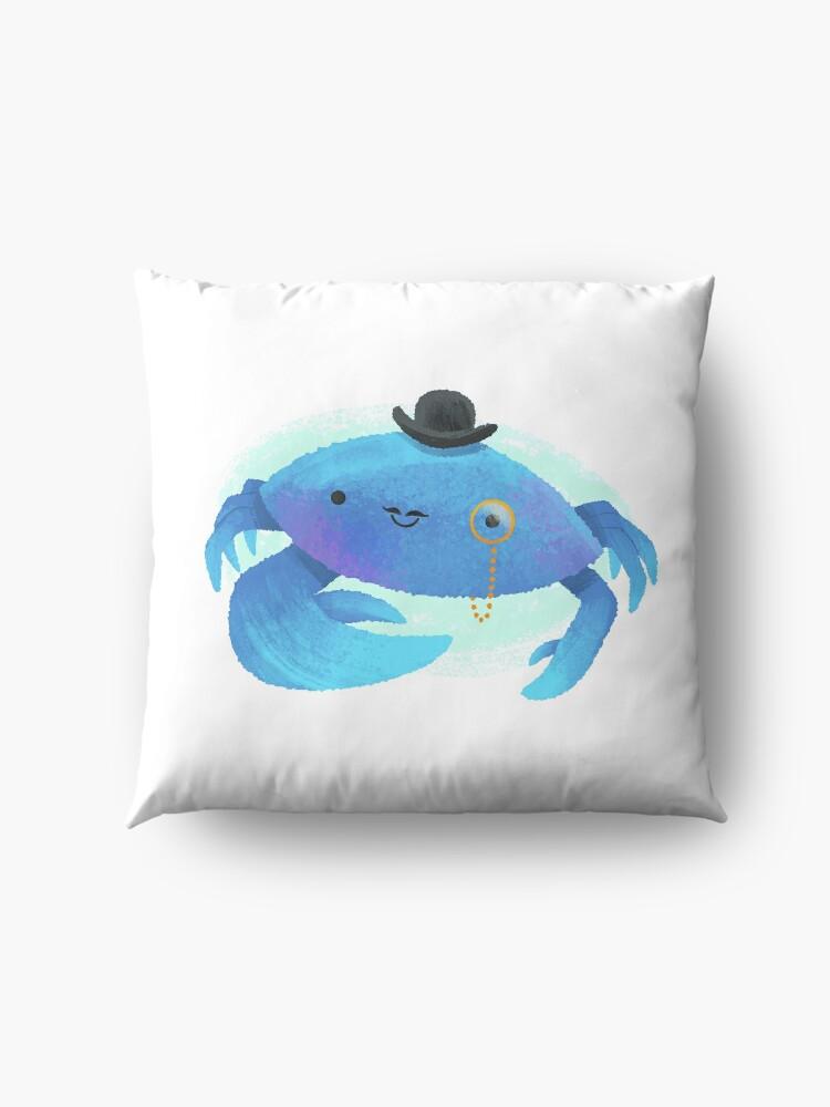 Alternate view of Gentleman Crab Floor Pillow