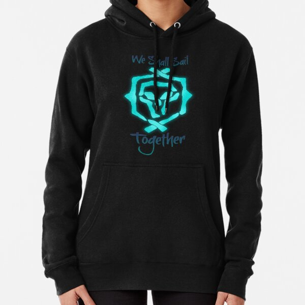 """Sea Of Thieves: Athena """"We Shall Sail Together"""" Pullover Hoodie"""