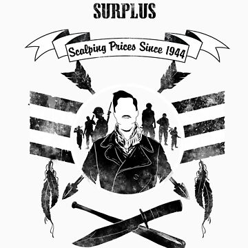 Apache Aldo's Surplus Store- Inglourious Basterds by spacemonkeydr