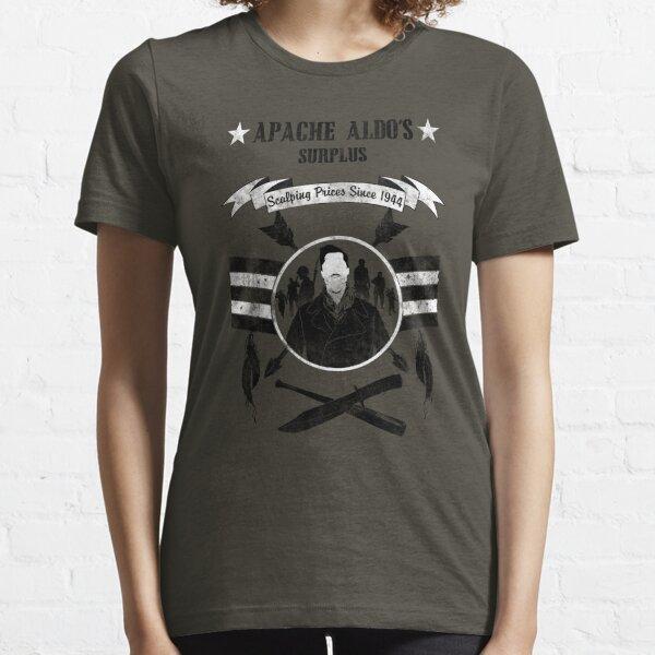 Apache Aldo's Surplus Store- Inglourious Basterds Essential T-Shirt