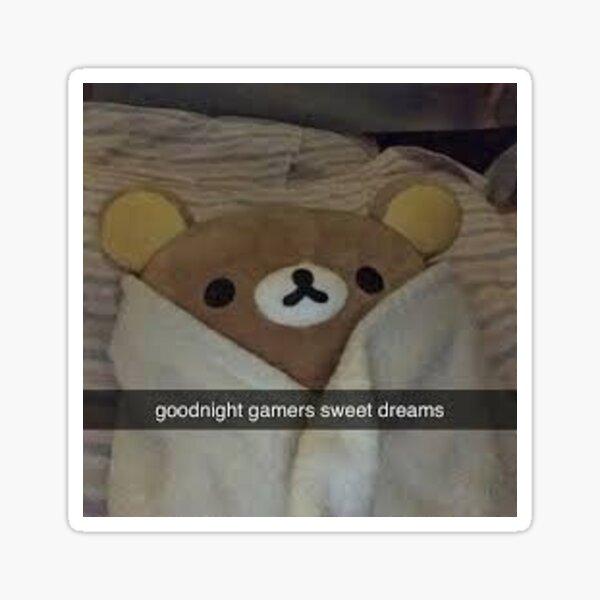 Goodnight Gamers Sticker