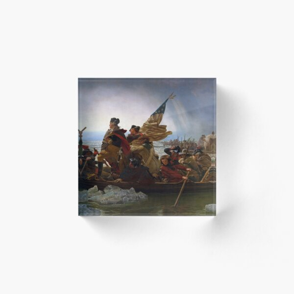 Washington Crossing the Delaware Acrylblock