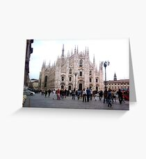 Milan - The Dom Greeting Card