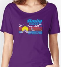 Amity Island Women's Relaxed Fit T-Shirt