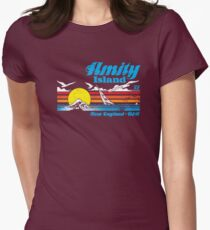 Amity Island Women's Fitted T-Shirt