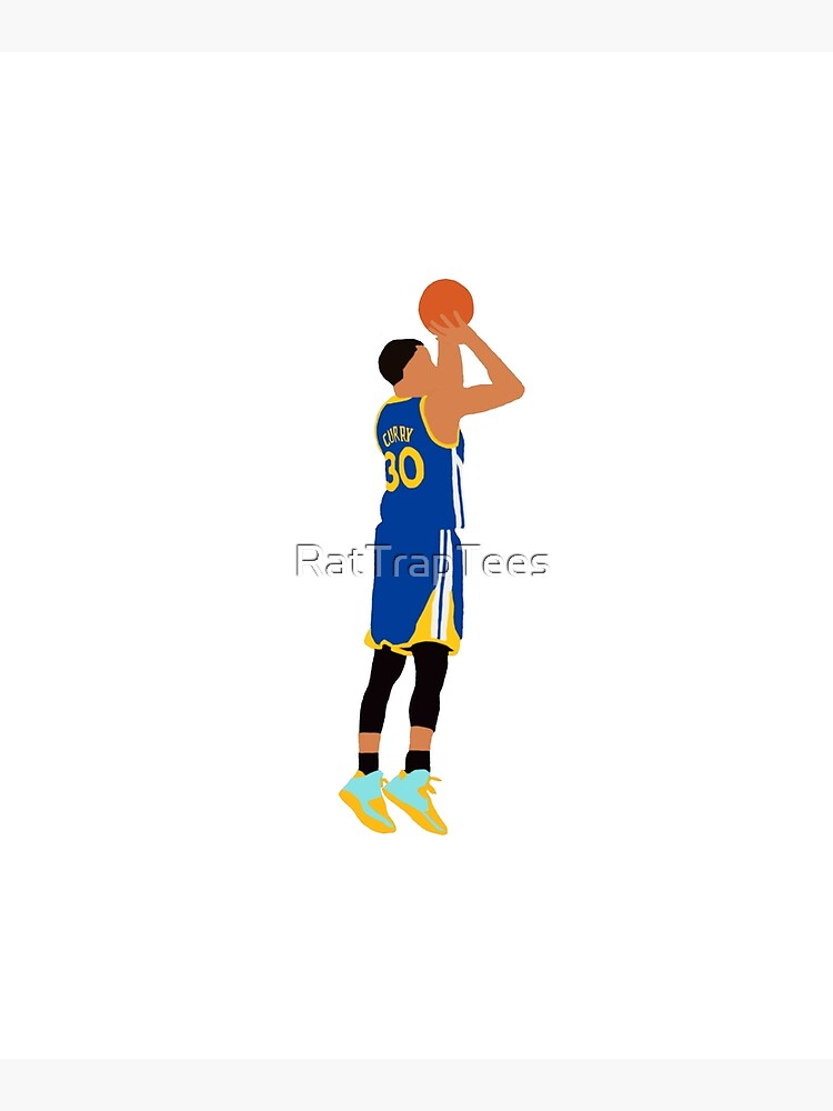 Stephen Curry Jumpshot  by RatTrapTees