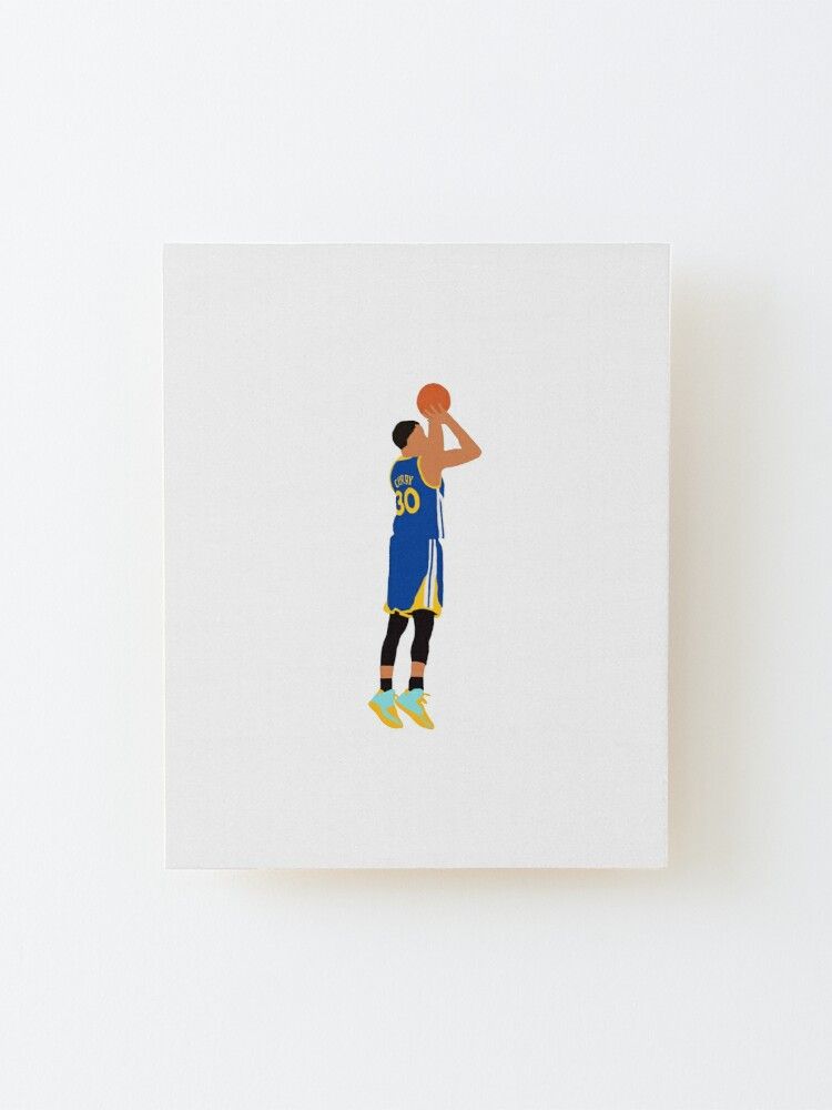 Alternate view of Stephen Curry Jumpshot  Mounted Print