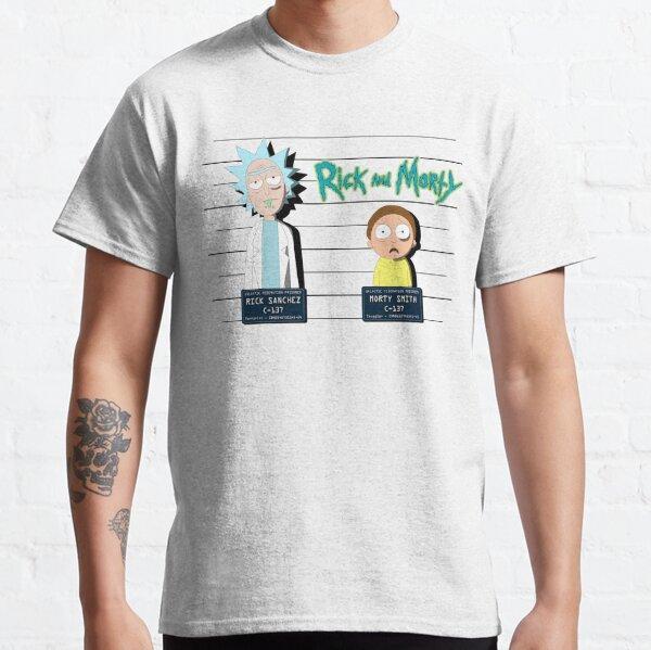 Rick and Morty Mugshot Classic T-Shirt