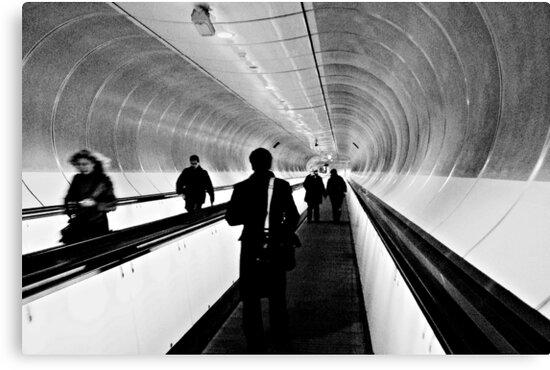 Commuters by Mojca Savicki
