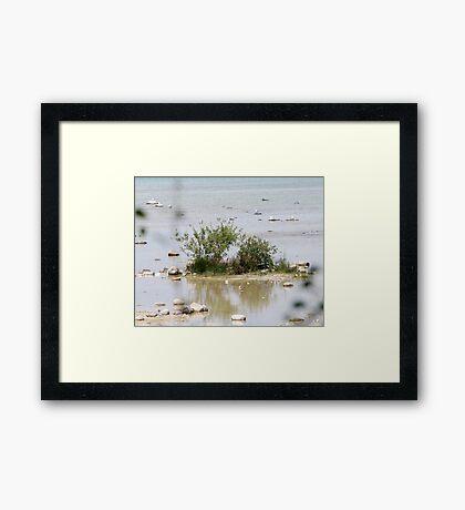 Little Island Framed Print