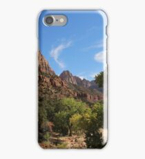 The Watchman at Zion iPhone Case/Skin
