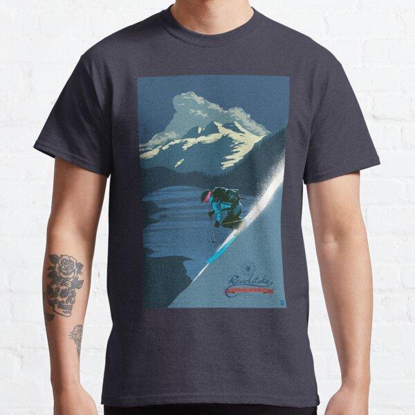 Retro ski print Revelstoke Classic T-Shirt