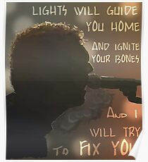 FIX YOU Poster