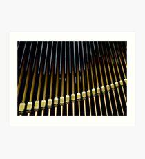 Organ pipes #2 Art Print