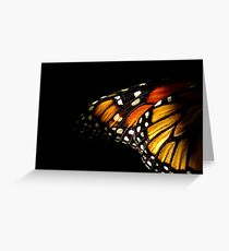 Monarch Butterfly Wing Greeting Card