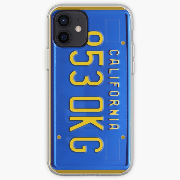 James Rockford's license plate in the Rockford Files iPhone Soft Case
