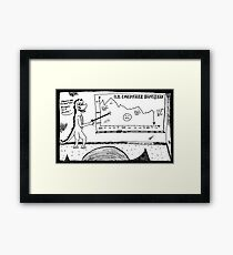 U.S. Consumer Happiness 2000 - 2011 Framed Print