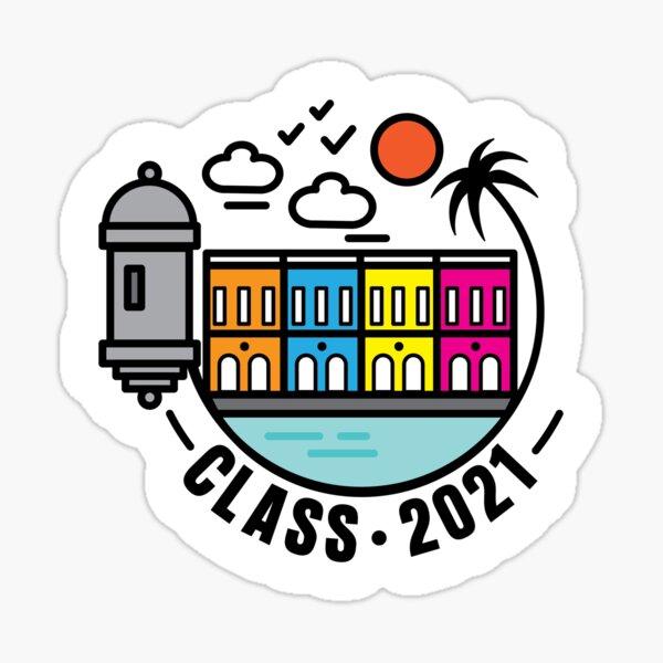 CLASS 2021 Sticker