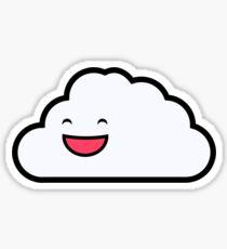 Carl the Friendly Cloud Sticker