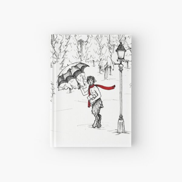 The Lion, The Witch, and the Wardrobe, The Chronicles of Narnia Mr. Tumnus Hardcover Journal