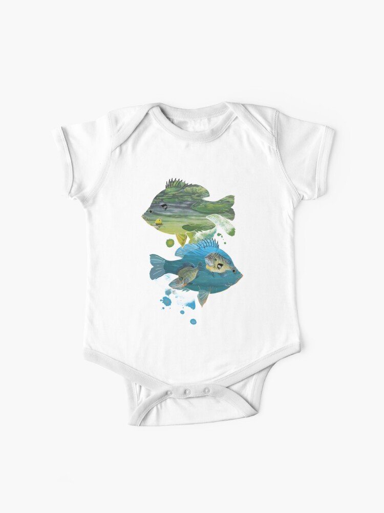 Fisherman Gift Northern Pike Baby Girls Original 100/% Cotton Short-Sleeve Bodysuit