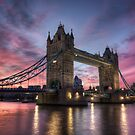 Tower Bridge Sunset by Conor MacNeill