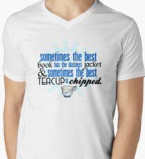The best teacup. Mens V-Neck T-Shirt