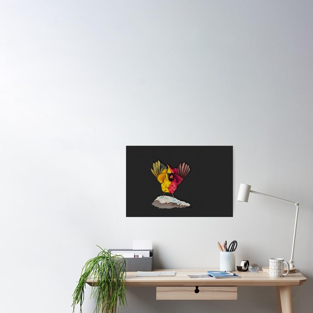 Cardinal Duality Poster