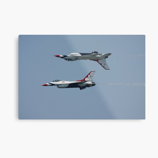 USAF Thunderbirds Metal Print