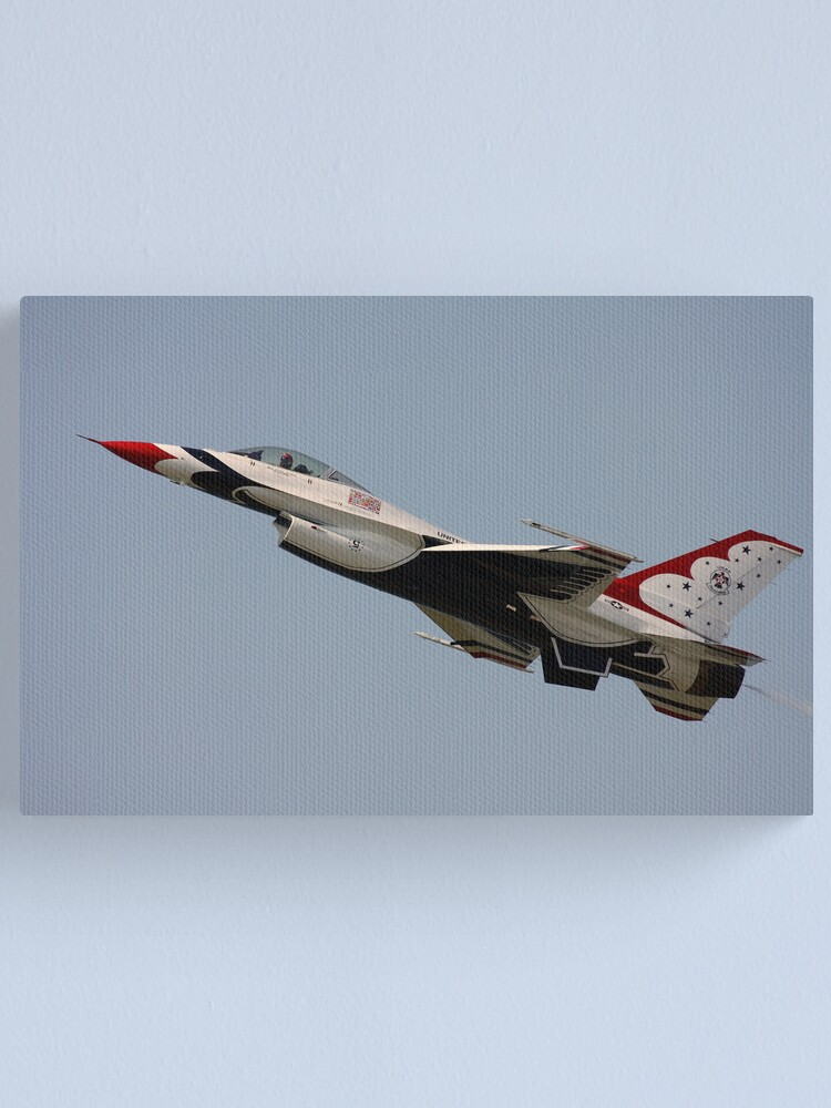 Alternate view of USAF Thunderbirds Canvas Print