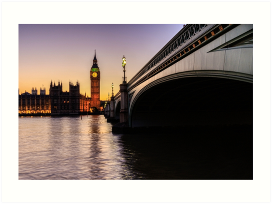 Big Ben at sunset  by chris2766