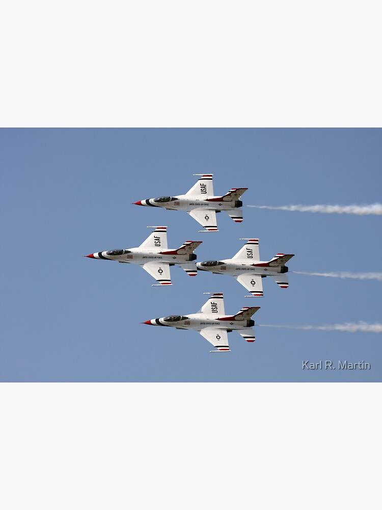 USAF Thunderbirds by SirEagle