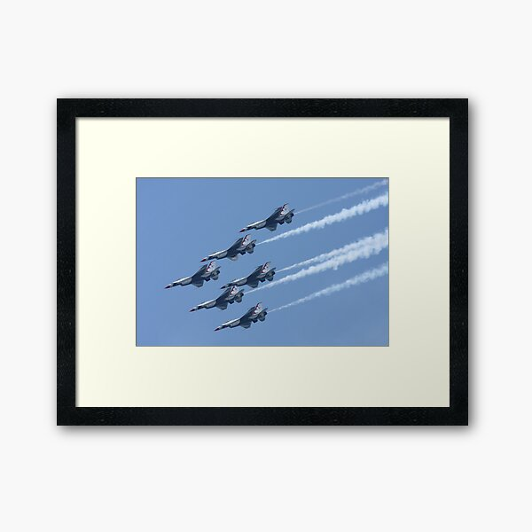 USAF Thunderbirds Framed Art Print