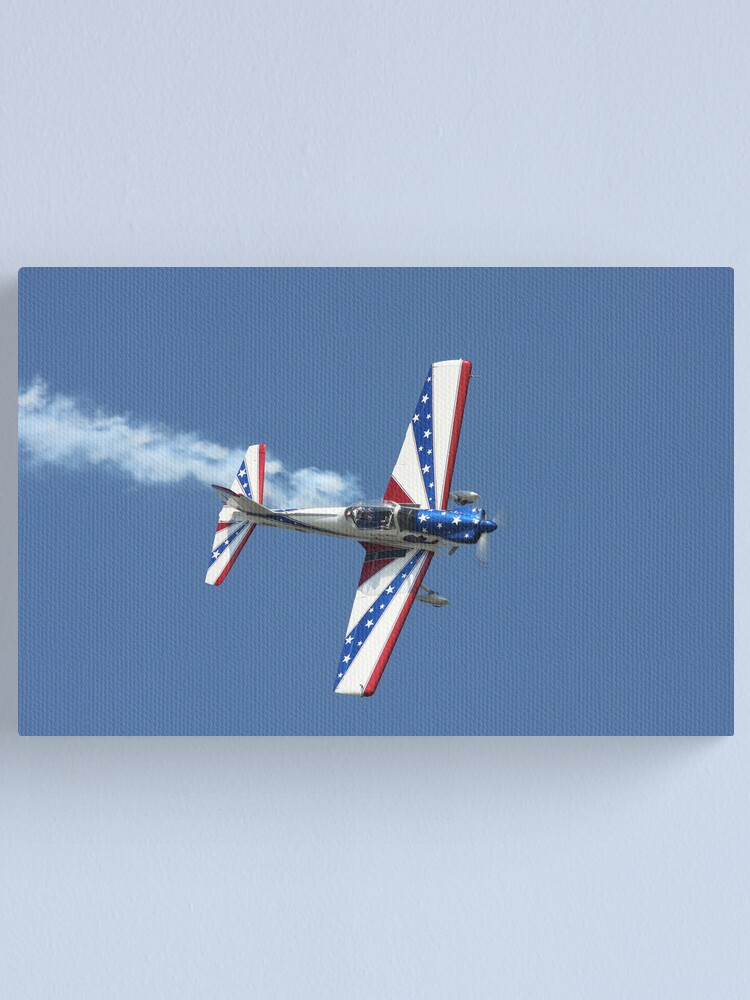 Alternate view of Aerobatic Airplane Canvas Print
