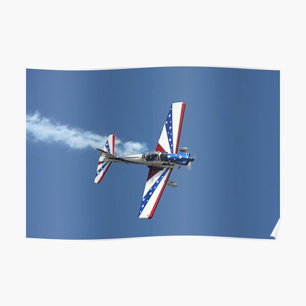 Aerobatic Airplane Poster