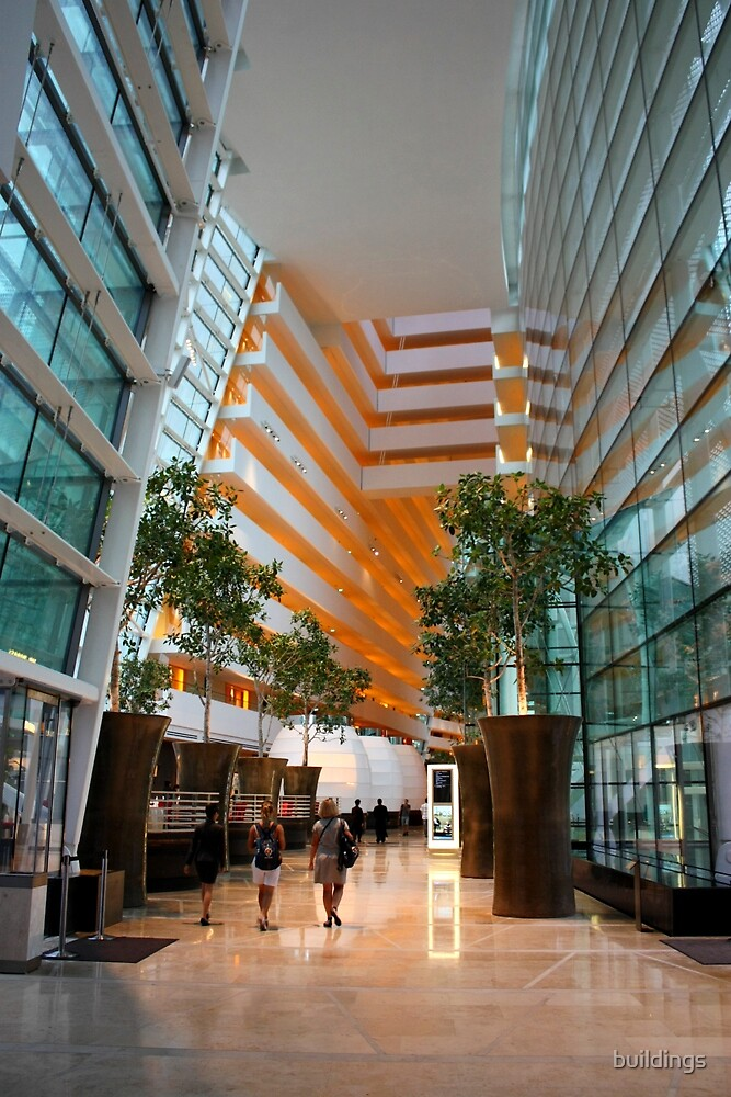 Sands Integrated Resort - Hotel Lobby by buildings