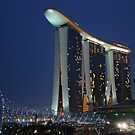 Sands Integrated Resort, Marina Bay by buildings