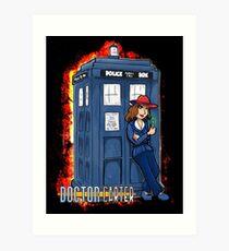 Doctor Carter Art Print