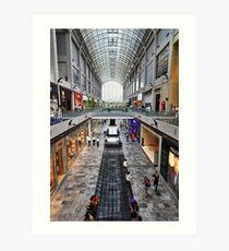 Shopping Arcade Marina Bay Sands Expo & Convention Centre Art Print