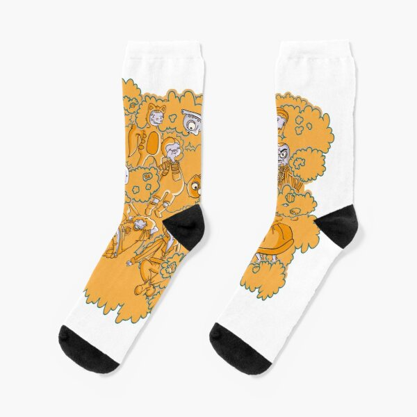 People from the clouds Socks