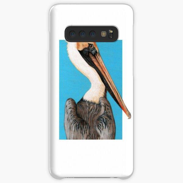 Pelican Seabird art by Artist Sherrie Spencer Samsung Galaxy Snap Case