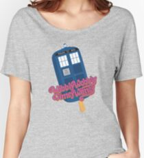 Wibbly Wobbly Timey Wimey Pop Women's Relaxed Fit T-Shirt