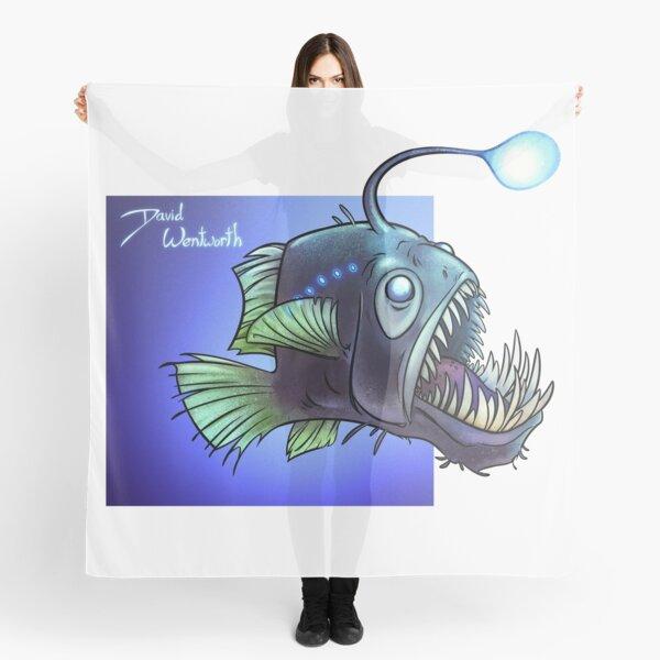 Predatory fish series: Angler Fish Scarf